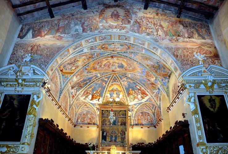 Casnigo_Santuario della SS. Trinità