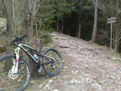Da Barzesto a Vilminore in Mountain Bike