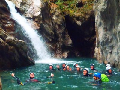 Nese and Valgua Canyoning Adventure