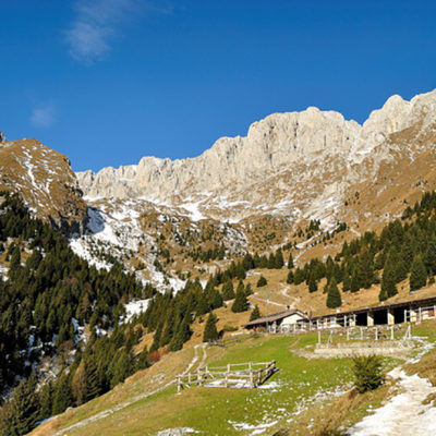 Trekking sul Monte Visolo
