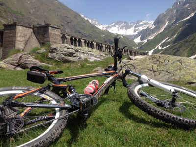 Da Colere alla Diga Del Gleno in Mountain Bike