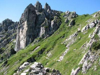 Arrampicare sul Monte Alben
