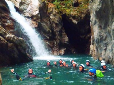 Canyoning a Fiumenero