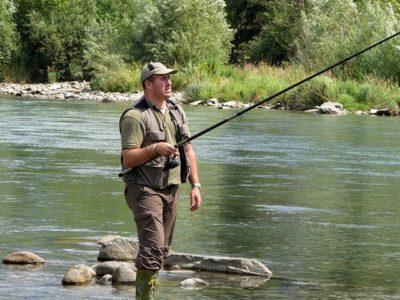 Fishing in Valseriana and in Val di Scalve