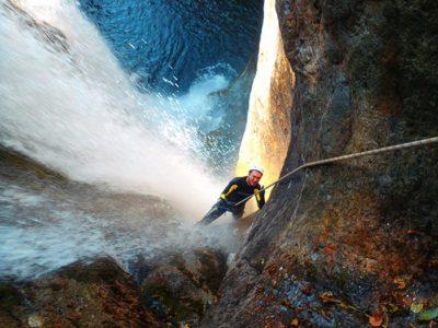 Canyoning sul Fiume Serio da Maslana