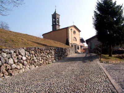 Rusio e la chiesa di San Giacomo – Castione della Presolana