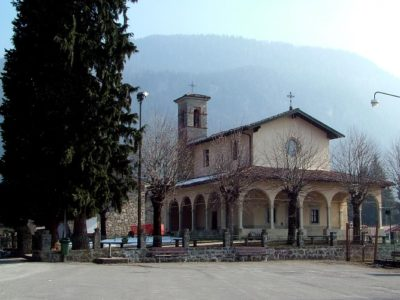 Antico nucleo di Lantana ed il suo Santuario – Castione della Presolana