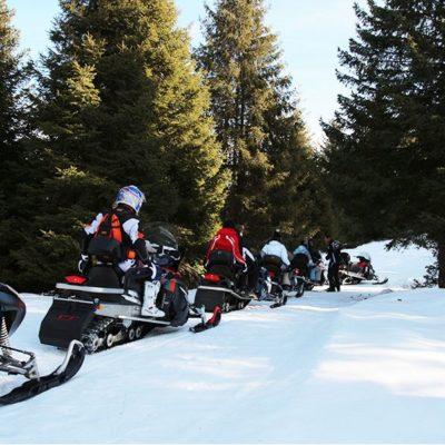 Itinerari motoslitta in ValSeriana