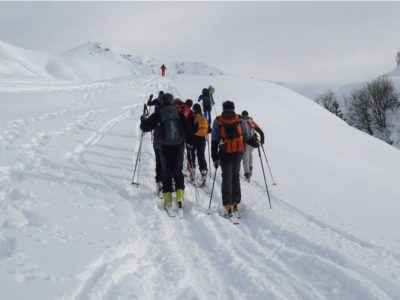 Ski mountaineering and snowshoeing – Passo Campelli