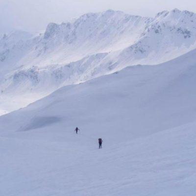 Itinerario di SciAlpinismo e ciaspolate alla Baita alta d'Agnone