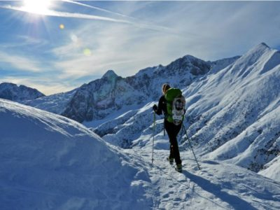 Ski mountaineering and snowshoeing – Passo della Manina