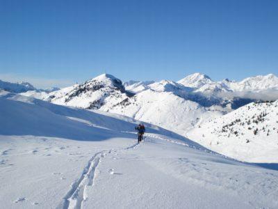 Ski-alp in Val Seriana