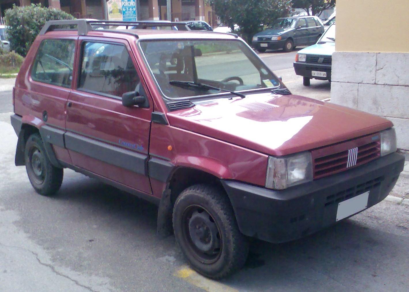 Classic Fiat Panda 4x4 Cross Country