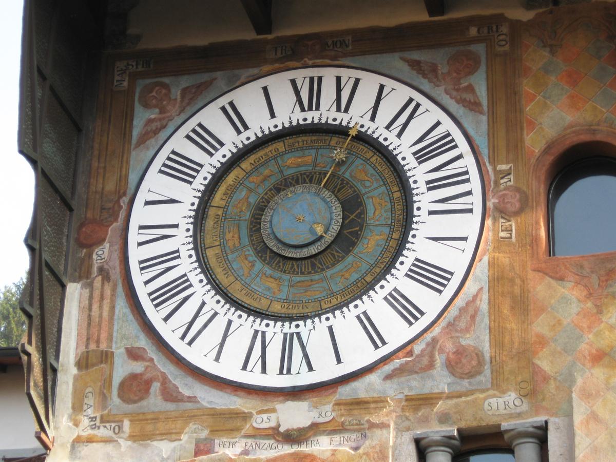 2017 10 08 Clusone Orologio Astronomico