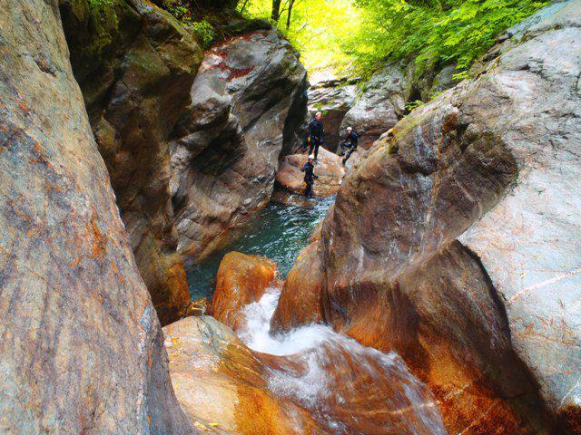 Canyoning a Fiumenero - Toboga - 3