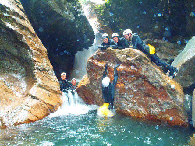 Canyoning a Fiumenero - Toboga - 4