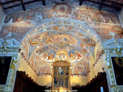 Soggiorno in ValSeriana in occasione di Lacc e chesciöla a Casnigo, la Sistina Bergamasca fra arte e tradizione