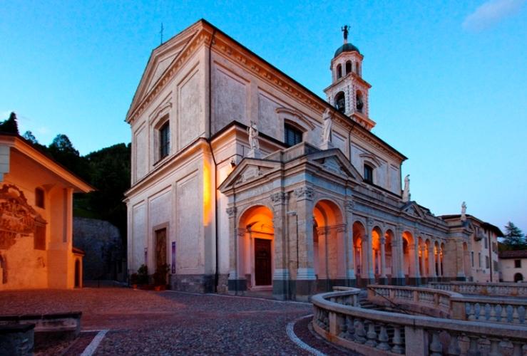 valle delle Basiliche a Clusone