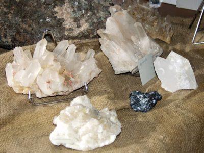 Esposizione di minerali Casa Gregori – Schilpario
