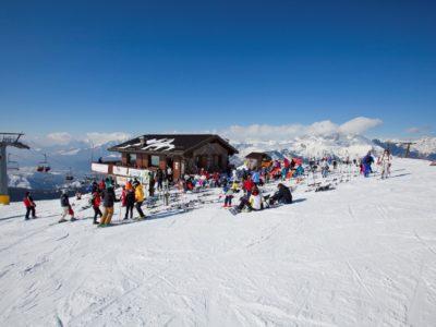 Sciare a Castione della Presolana in Località Donico