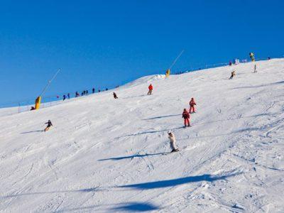 Sciare a Castione della Presolana in Località Monte Pora