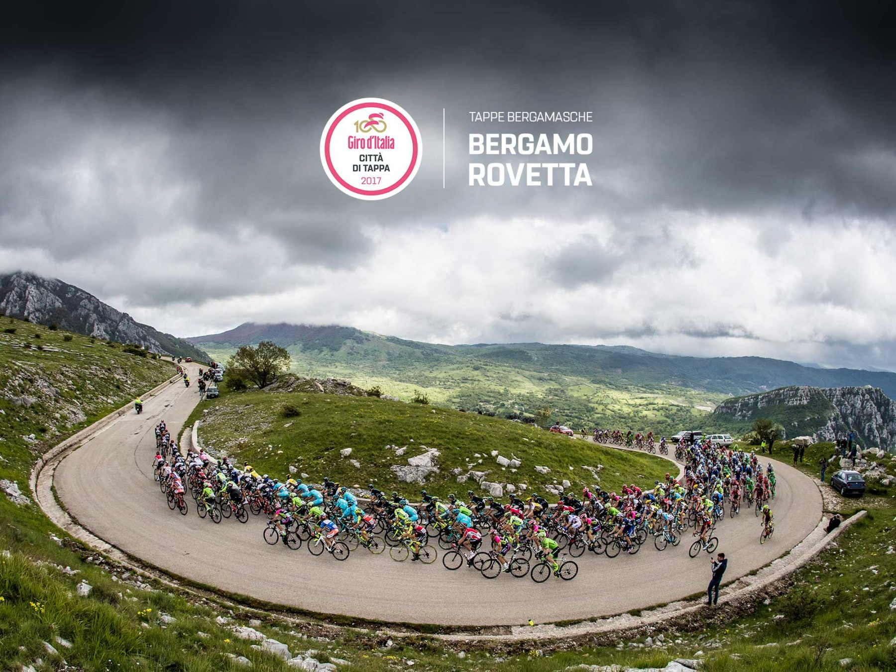 Giro D'Italia due Tappe Bergamasche