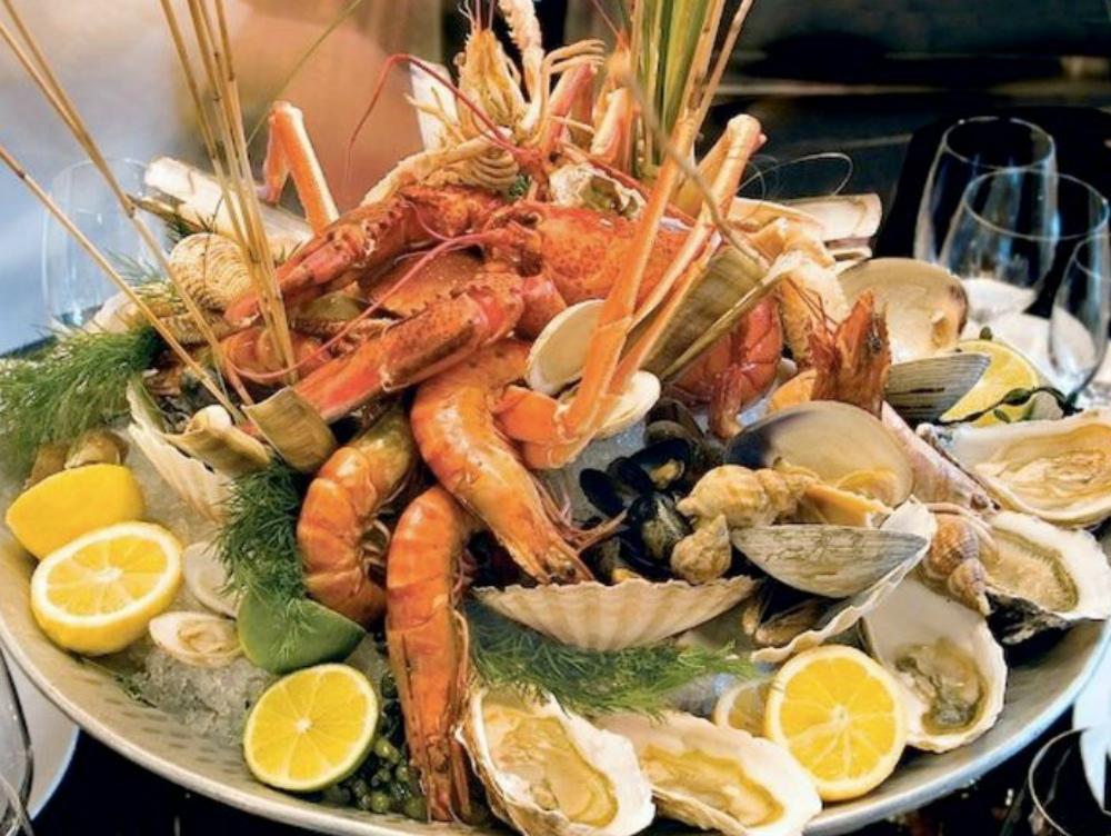 Serata gastronomica di pesce