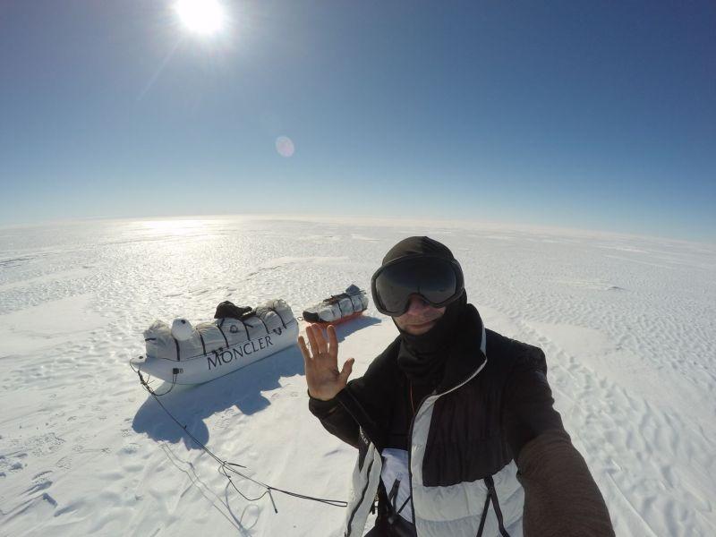 Moncler Michele Pontrandolfo Solo Antartic Expedition 3