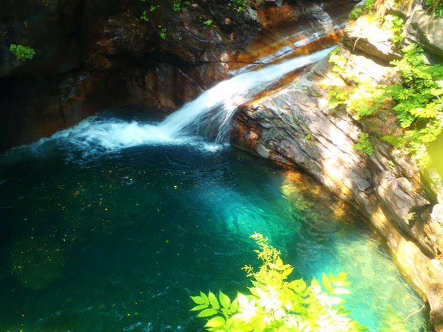 Canyoning a Fiumenero - Toboga