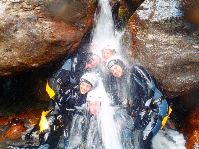 Canyoning a Fiumenero - Toboga - 2